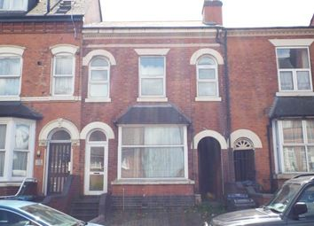 Thumbnail 3 bed terraced house for sale in Albert Road, Aston, Birmingham, West Midlands