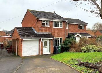 Thumbnail 3 bed semi-detached house for sale in Stewart Drive, Loughborough