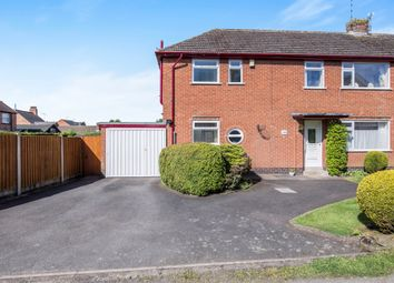 Thumbnail 3 bed semi-detached house for sale in Crossways, Burbage, Hinckley