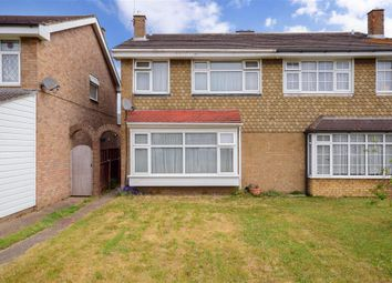 Thumbnail 4 bed semi-detached house for sale in Falcon Way, Hornchurch, Essex