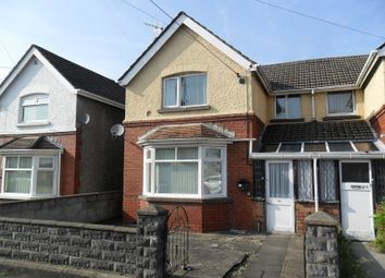 Thumbnail 3 bed semi-detached house for sale in Capel Road, Clydach, Swansea.