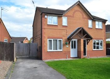 Thumbnail 2 bed semi-detached house for sale in Consort Gardens, Derby, Derbyshire