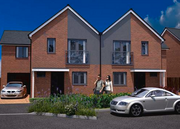 Thumbnail 3 bed link-detached house for sale in The Cooke At Springhead Park, Wingfield Bank, Northfleet, Gravesend