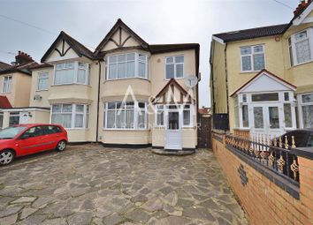 Thumbnail 3 bed semi-detached house to rent in Vaughan Gardens, Cranbrook, Ilford