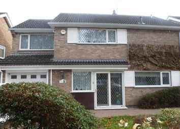 Thumbnail 4 bed detached house to rent in Lutterworth Road, Blaby, Leicester