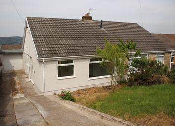 Thumbnail 2 bedroom bungalow to rent in Lan Manor, Swansea