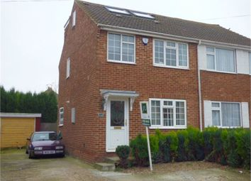 Thumbnail 3 bed semi-detached house for sale in Springvale, Iwade, Kent