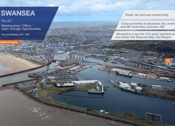 Thumbnail Industrial to let in Port Of Swansea, Swansea
