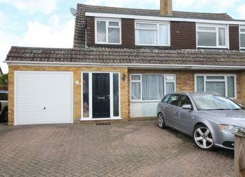 Thumbnail 3 bed semi-detached house for sale in Paynesdown Road, Thatcham