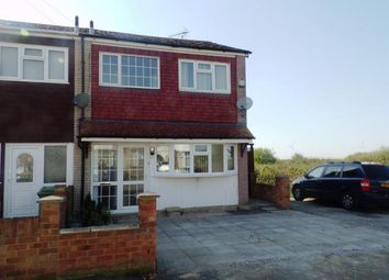 Thumbnail 3 bed end terrace house for sale in Dumergue Avenue, Queenborough, Sheerness, Kent