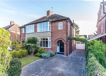 Thumbnail 3 bedroom semi-detached house for sale in Thornton Road, Girton, Cambridge
