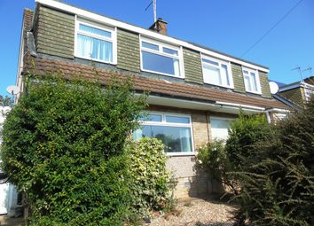 Thumbnail 3 bed semi-detached house for sale in St. Ambrose Close, Dinas Powys
