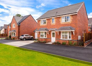 "Thumbnail 4 bed detached house for sale in ""Thame"" at Squinter Pip Way, Bowbrook, Shrewsbury"