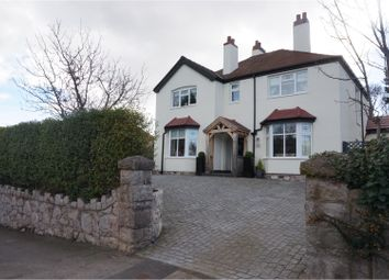 Thumbnail 5 bed detached house for sale in Holyrood Avenue, Colwyn Bay