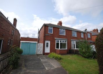 Thumbnail 3 bedroom semi-detached house for sale in Woodhorn Road, Newbiggin-By-The-Sea