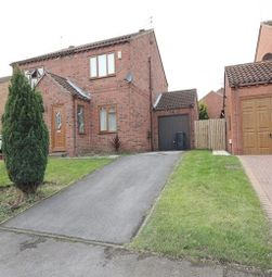 Thumbnail 2 bed semi-detached house to rent in Queen Margarets Avenue, Brotherton, Knottingley