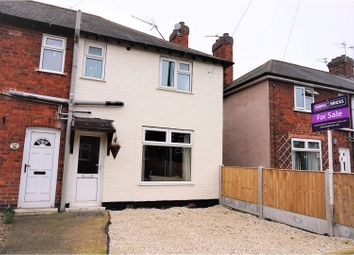 Thumbnail 3 bed terraced house for sale in Doncaster Grove, Long Eaton