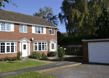 Thumbnail 3 bed end terrace house for sale in Meadow Close, Thatcham, Berkshire
