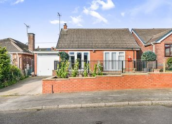 Thumbnail 3 bedroom detached bungalow for sale in Lawrence Avenue, Eastwood, Nottingham