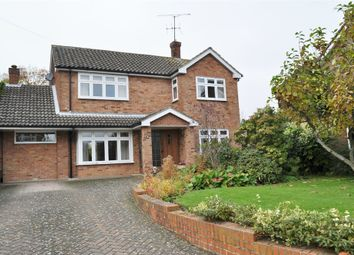 Thumbnail 3 bedroom detached house for sale in Hornbeam Close, Chelmsford, Essex