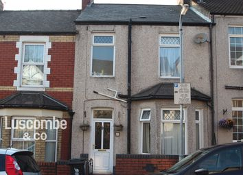 Thumbnail 3 bed terraced house to rent in Coldra Road, Newport