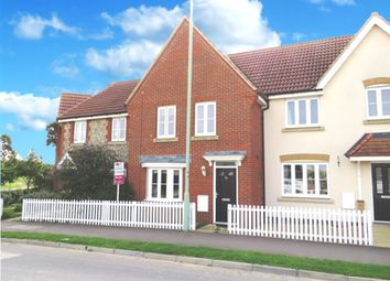 Thumbnail 3 bedroom terraced house for sale in Hundred Acre Way, Red Lodge, Bury St. Edmunds
