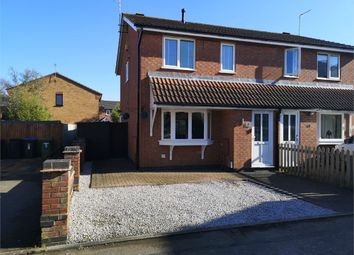 Thumbnail 3 bed semi-detached house for sale in Faraday Close, Broughton Astley, Leicester