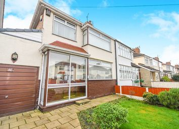 Thumbnail 3 bed semi-detached house for sale in Merton Crescent, Huyton, Liverpool