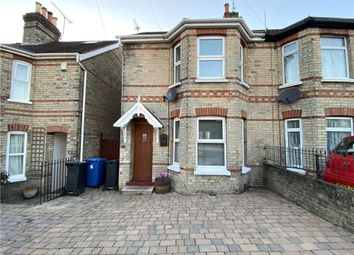 Thumbnail 3 bed semi-detached house for sale in Lower Parkstone, Poole, Dorset