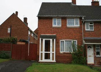 Thumbnail 2 bed property to rent in Neath Road, Bloxwich, Walsall