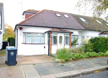 Thumbnail 3 bedroom semi-detached bungalow for sale in Kinloch Drive, London