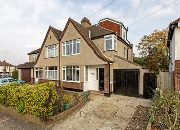 Thumbnail 4 bed semi-detached house for sale in Braemar Gardens, West Wickham, Kent