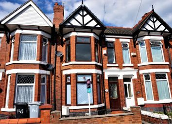 Thumbnail 3 bed terraced house to rent in Bedford Street, Crewe