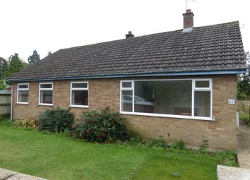 Thumbnail 3 bedroom detached bungalow for sale in Jobs Lane, March