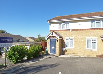 Thumbnail 2 bed semi-detached house for sale in Bennett Way, Darenth
