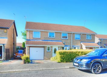Thumbnail 4 bed semi-detached house for sale in Dereham Court, Westerhope, Newcastle Upon Tyne