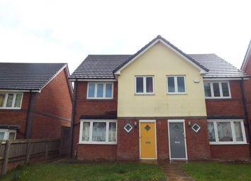Thumbnail 3 bedroom semi-detached house for sale in Spring Road, Tyseley, Birmingham, West Midlands