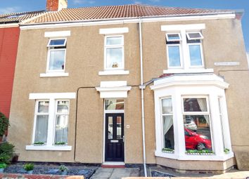 Thumbnail 3 bed terraced house for sale in Laburnum Avenue, Whitley Bay