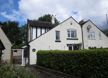 Thumbnail 2 bed semi-detached house for sale in Church Lane, Wolstanton, Newcastle
