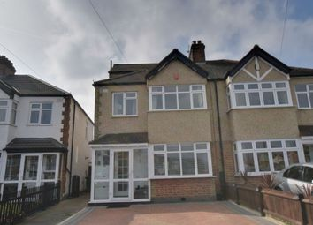Thumbnail 4 bedroom semi-detached house for sale in Northfield Crescent, Cheam