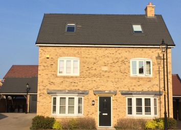 Thumbnail 4 bed detached house for sale in West Hill Close, Bedford, Bedfordshire