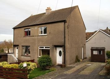 Thumbnail 2 bed semi-detached house for sale in Glenfield, Tarbert, Argyll