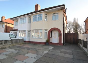 Thumbnail 3 bed semi-detached house for sale in Balmoral Drive, Churchtown, Southport