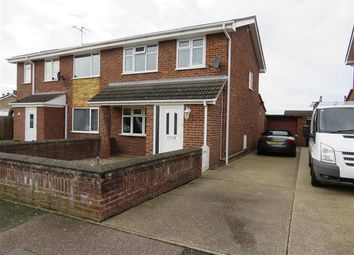 Thumbnail 3 bed property to rent in Caledonian Way, Belton, Great Yarmouth