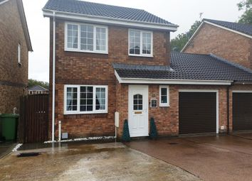 Thumbnail 3 bed link-detached house for sale in Stryd Silurian, Llanharry, Pontyclun
