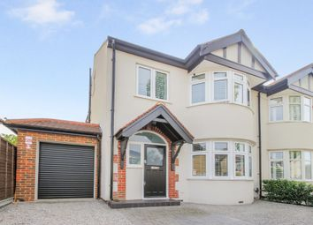 Thumbnail 4 bedroom semi-detached house to rent in Thornhill Road, Tolworth, Surbiton