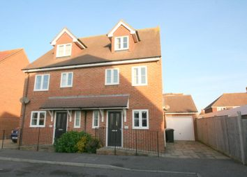 Thumbnail 3 bed semi-detached house to rent in Ashmead Way, Angmering, Littlehampton