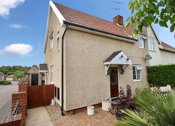 Thumbnail 3 bed semi-detached house for sale in St. Peters Close, Claydon, Ipswich