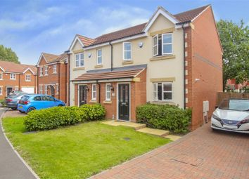Thumbnail 3 bed semi-detached house for sale in Scholar Close, Ilkeston