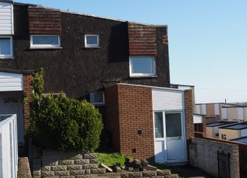 Thumbnail 2 bedroom end terrace house to rent in Laleston Close, Barry